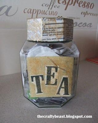 jar for tea bags