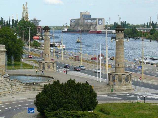 Port in Szczecin, Poland