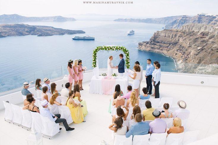 Flower design & Decoration: Wedding Wish Santorini   www.weddingwish.com.gr   Karterados   Santorini   info@weddingwish.gr