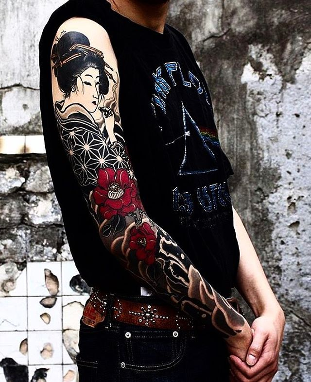 M s de 25 ideas incre bles sobre tatuajes de manga - Mangas de tattoo ...