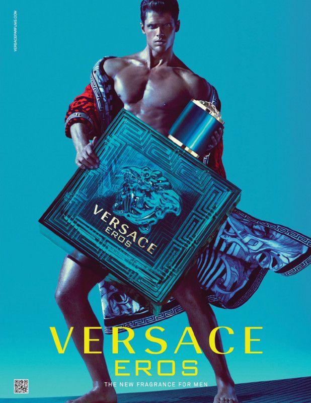 Publicité du parfum Eros de Gianni Versace
