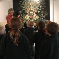 Sapphire Coast Anglican College students having a guided tour:
