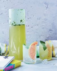 This recipe for Meadow Mocktails combines lavender syrup, fresh grapefruit juice and basil to make a super-refreshing drink. Get the recipe from Food & Wine.