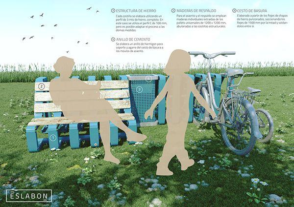 Eslabon - Equipamiento urbano on Behance