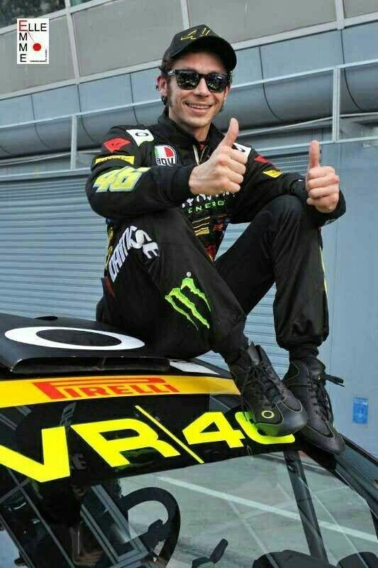 Valentino Rossi #46 - Car: