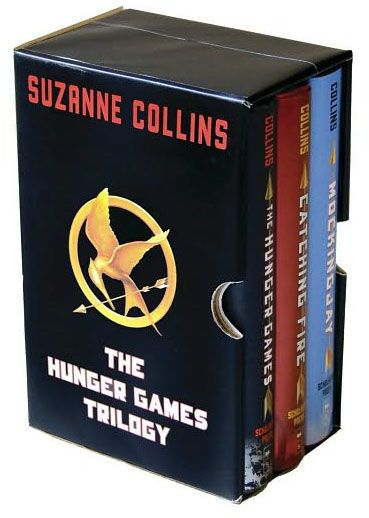 The Hunger Games Trilogy...  Suzanne Collins