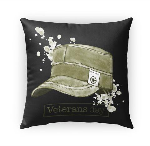 Veteran Day Pillow 2017 Standard T-Shirt Front