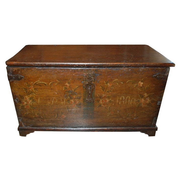 hope chest from 1806... gorgeous