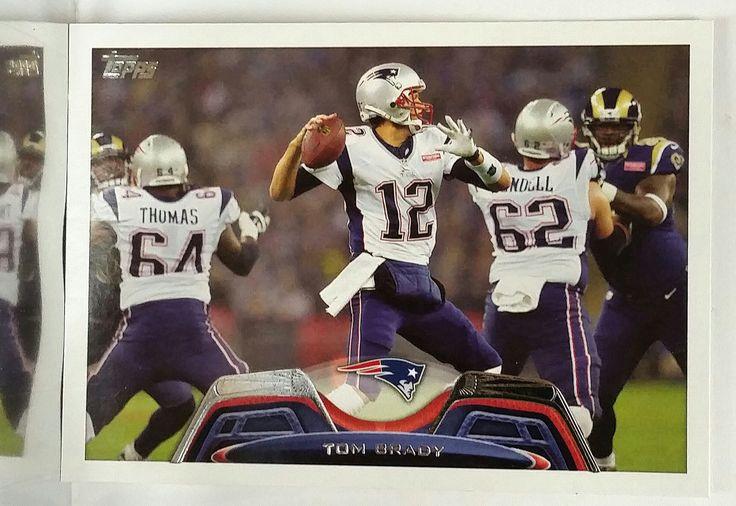 2013 Topps #100 Tom Brady, QB, New England Patriots, 3x Super Bowl MVP, MINT