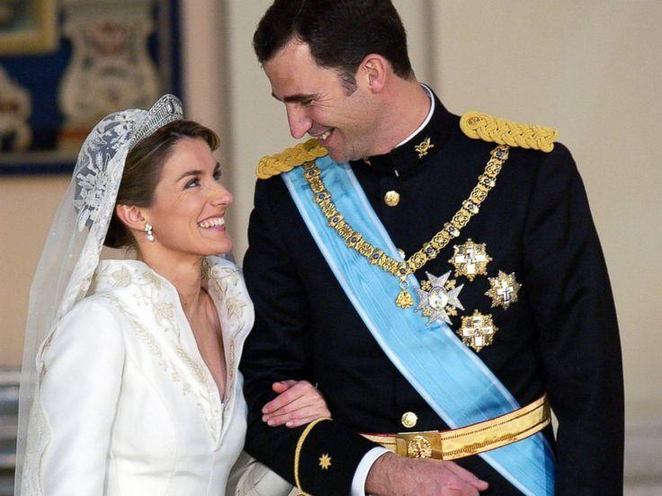Prince Felipe of Spain and Letizia Ortiz Rocasolano