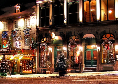 Christmas in Montreal