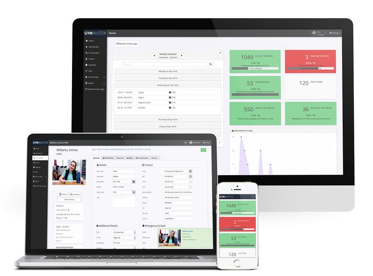 GymMaster - Gym Membership Management Software