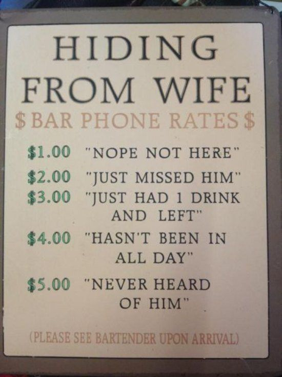 30 funny bar signs that would get me in the door (30 Photos)