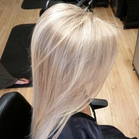 Partial Blonde Highlight