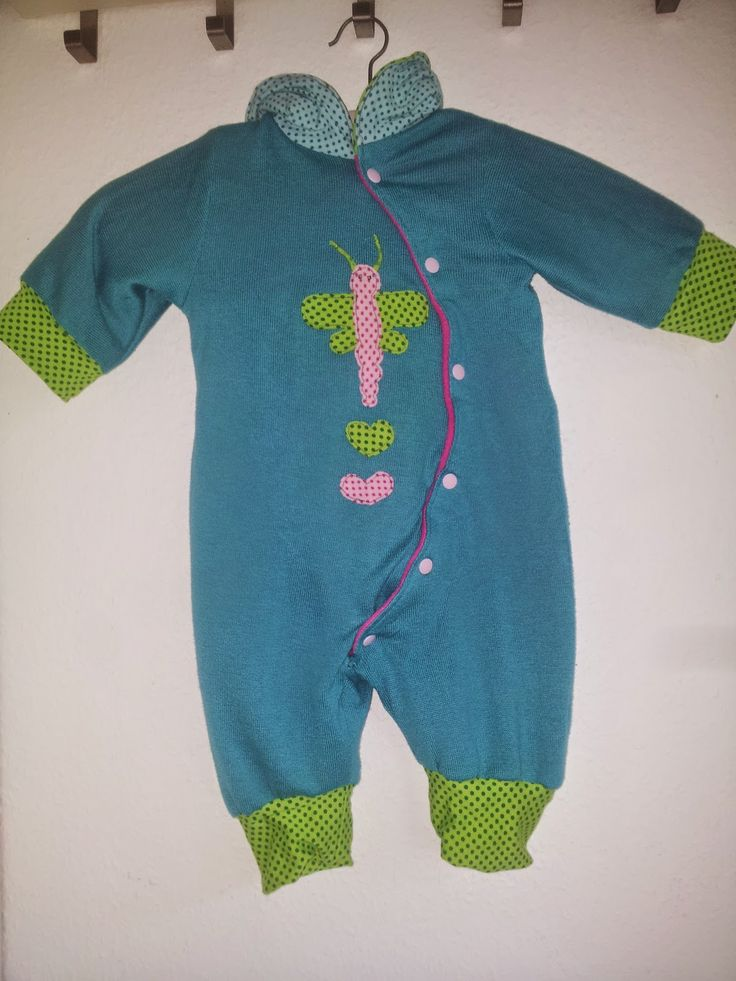 Baby Wende Overall Freebook