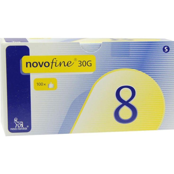 NOVOFINE 8 Kanülen 0,30x8 mm:   Packungsinhalt: 100 St Kanüle PZN: 05560519 Hersteller: axicorp Pharma GmbH Preis: 20,87 EUR inkl. 19 %…