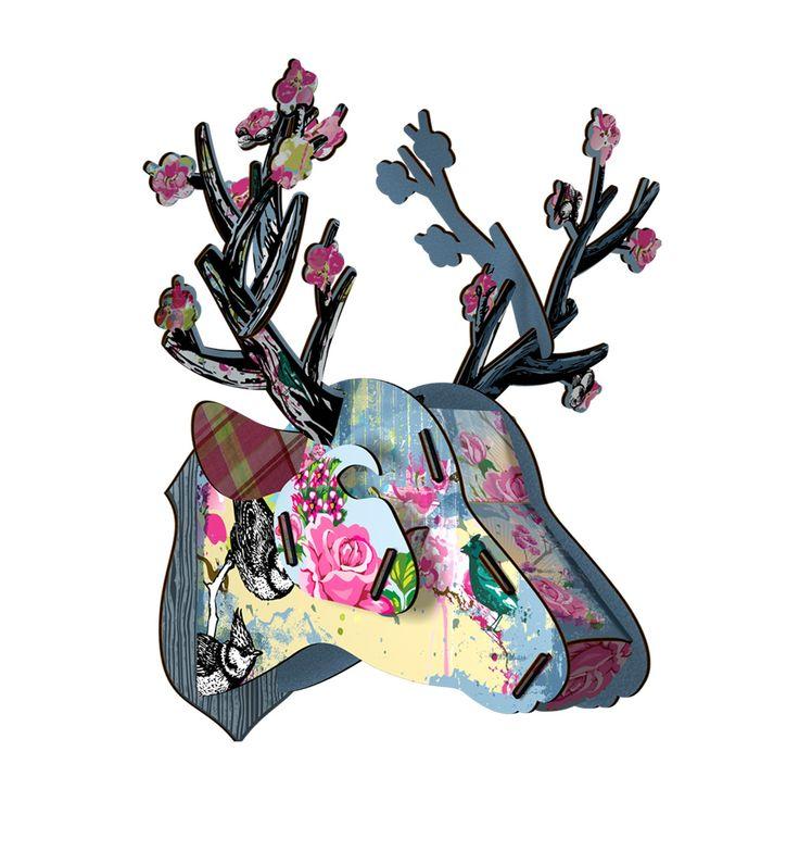 Trophée Cerf Blossom - Miho