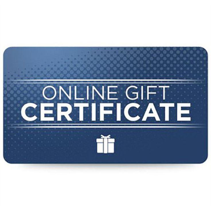 Fanatics Online Gift Certificates