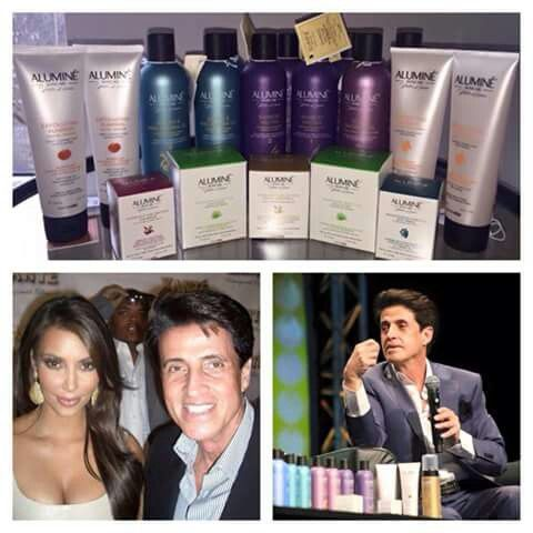 Aluminé hair and skin care by the wonderful Peter Lamas! I met him, what a very nice man!
