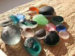 seaham beach is the site of some of the most beautiful sea glass finds. People travel from usa to collect sea glass