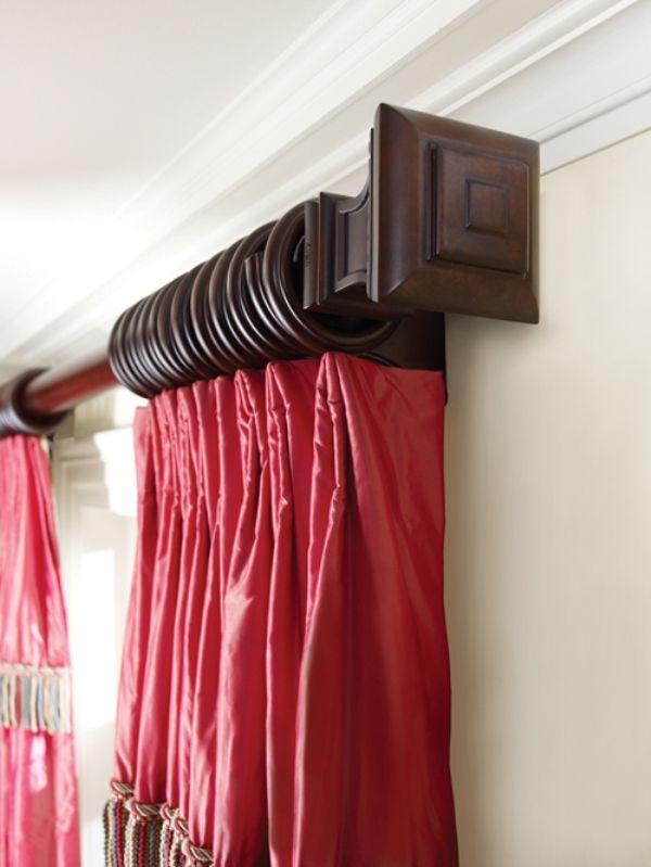Drapery Rods Decorative Drapery Hardware Curtain Rods