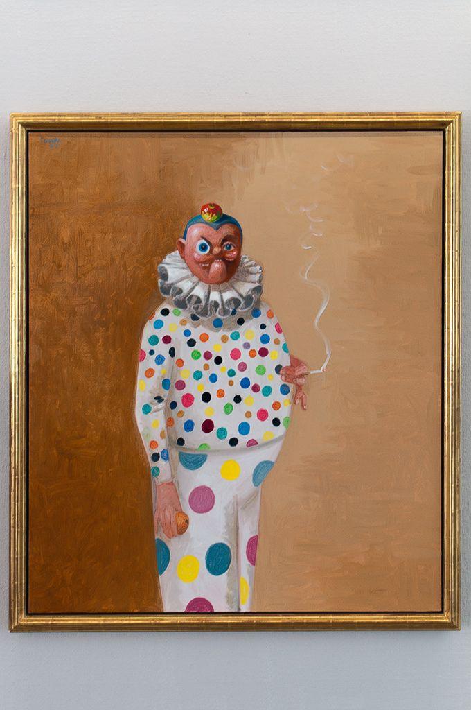 olieverf op doek oil on canvas George Condo - Mental States Museum Boijmans Van Beuningen, 2011 De Amerikaanse kunstenaar George Condo werd geboren in New Hampshire. Hij studeerde kunstgeschiedenis en muziektheorie aan de University of Massachusetts Lowell en heeft een prominente positie in de kunstwereld verkregen in de afgelopen drie decennia. Slechts eenmalig is het werk van Condo in Nederland getoond: in 1985 bij Galerie 't Venster in Rotterdam. Hij heeft veel geëxposeerd in zowel de…