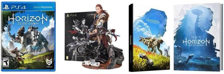 Daily Deals: Horizon Zero Dawn Collector's Edition Back in Stock Tom Clancy's Ghost Recon Open Beta Starts Today
