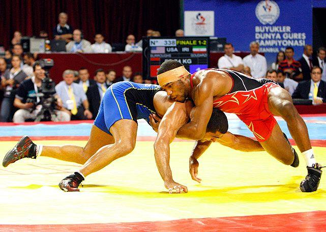 Jordan Burroughs, U.S. Olympic wrestler