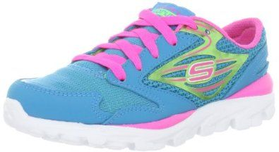 Skechers Kids Go Run Fashion Sneaker (Little Kid/Big Kid) Skechers. $32.49. Flexible Construction. NA. Non-marking outsole. leather/textile. Ultra Lightweight. GO Run. Rubber sole