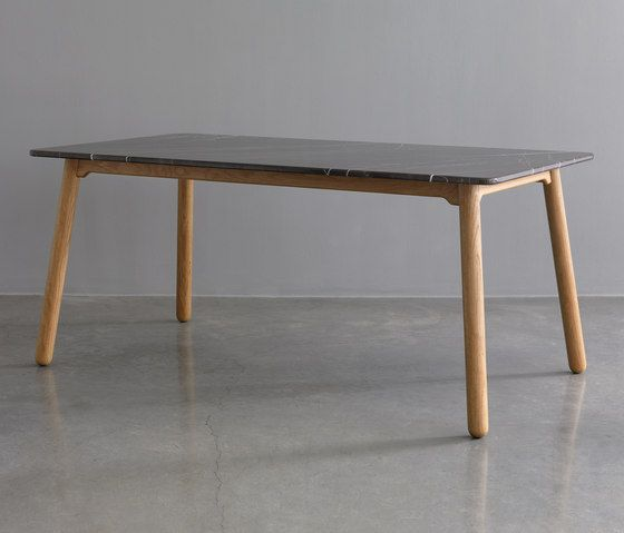 Carve marble dining table by Bethan Gray | Dining tables