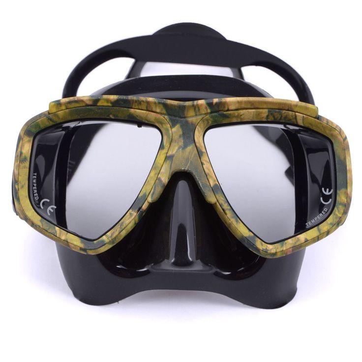 Professional scuba diving Mask anti fog for spearfishing gear swimming masks googles oculos de mergulho,gafas buceo
