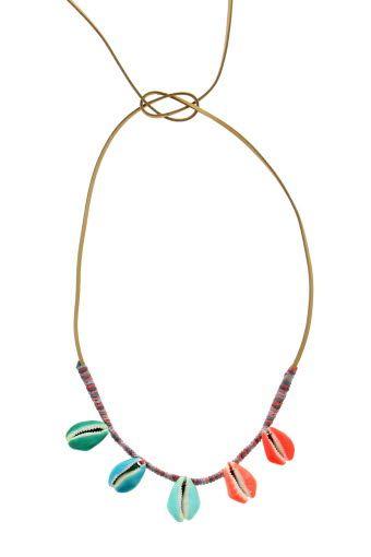 Collier coquillages Aurélie Bidermann