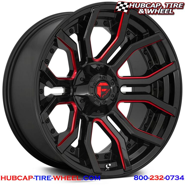 Fuel D712 Rage Wheels & Rims in 2020 Truck rims, Fuel