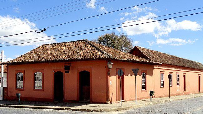 Lapa, Paraná - Brasil - Casa Vermelha (Museu do Tropeiro e Centro de Artesanato)