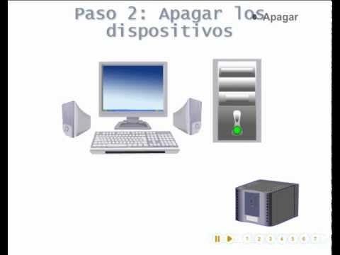 APAGAR Y ENCENDER EL COMPUTADOR