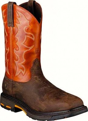 Ariat Men's Steel Toe Workhog Western Work Boot Style: A10006961