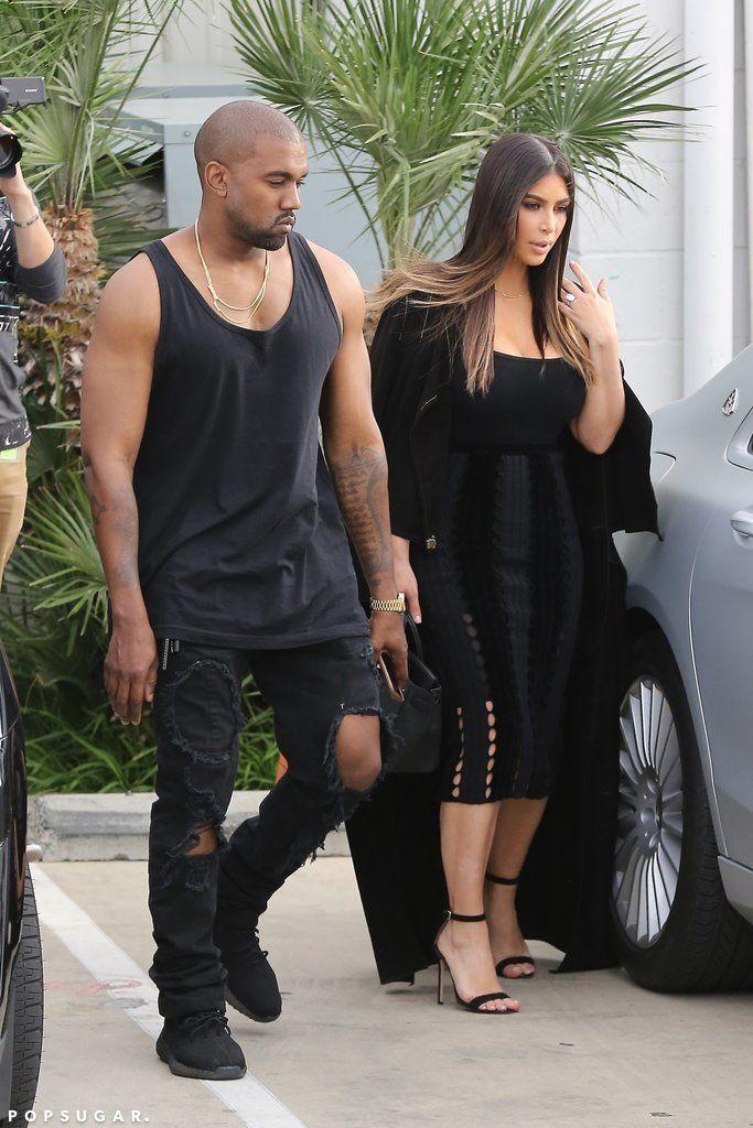 Kim Kardashian and Chrissy Teigen Wear Smoking-Hot Looks For Kocktails With Khloé. #fashion #celebritycouples