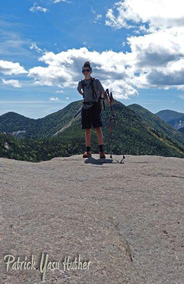 atop Armstrong Mtn