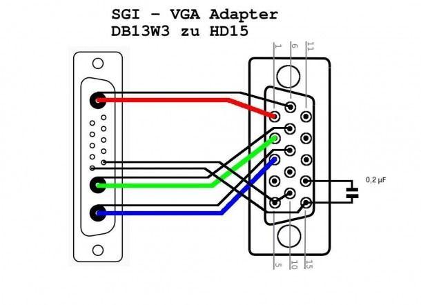 hdmi to rca cable wiring diagram  hdmi vga vga connector