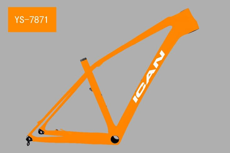 385.00$  Watch now - http://aliamp.worldwells.pw/go.php?t=32379201442 - Newest model 650B MTB bike frame AC650B from ICANbikes UD carbon mtb frames 15inch bb92 bb 142*12mm thru axle frame 385.00$