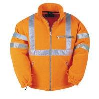 RWS Fleece jas Oranje,maat L per stuk