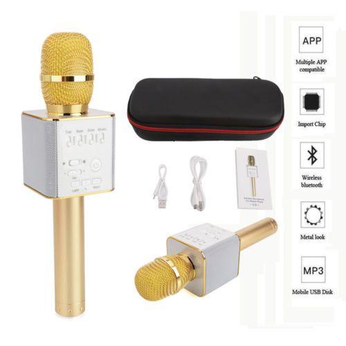 US-Deals Cars Q9 Wireless Bluetooth Karaoke Microphone Cellphone Home KTV USB Mini Speaker: $18.98 End Date: Saturday Mar-3-2018…%#USDeals%