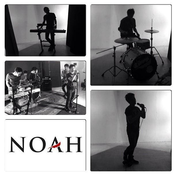 foto album cover NOah