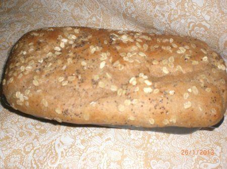 Receita de Pão Fofinho Integral de Liquidificador - pão e despeje a massa. Espere a massa dobrar de volume e depois leve ao forno, pré aquecido, a 180°C por mais ou menos 30 minutos. Observação: ...