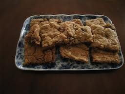 Davy Crockett Bars (use a 15 x 10 x 1 inch jelly roll pan) - This vintage school cafeteria treat was very popular and disappeared quickly. People were asking for the recipe. Definitely making again.