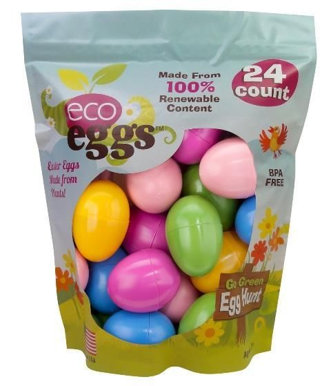 Fill your Easter treasures in these beautiful Eco Easter Eggs!