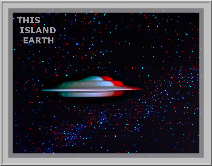 3D anaglyph This Island Earth GIF by gogu1234.deviantart.com on @DeviantArt