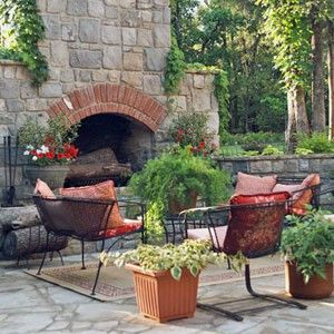 Outdoor fireplaces- perfection
