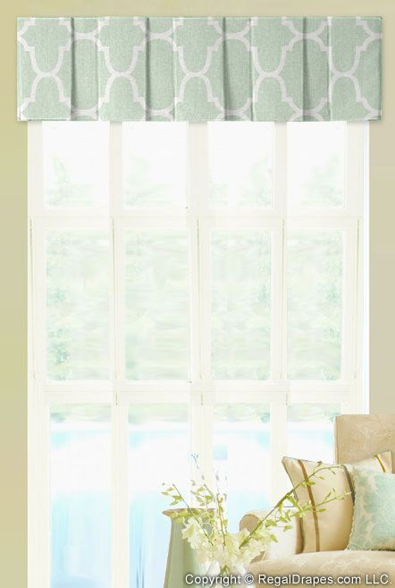 Box Pleat Valance Featuring A Casual Pleats To Showcase Fabric Or Provide The Perfect
