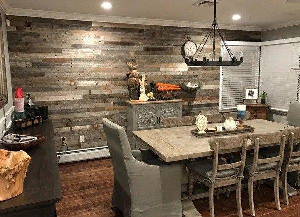 Kata Siapa Memasang Dinding Kayu Di Rumah Adalah Hal Yang Sulit Dilakukan Berbekal Aplikasi Finishing Patina Dan Penggu Renovasi Rumah Sweet Home Dinding Kayu